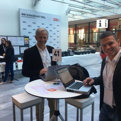 Unser Sales Team bei der Interalpin 2019