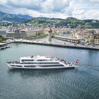 MS-Diamant am 20. mai 2017 am Fuenflibertag im Luzernersee vor Luzern